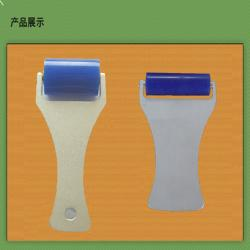 China Aluminum Handle Sticky Cleaning Roller , Boats Silicone Washable Sticky Roller on sale