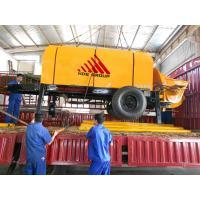 80m3/h Diesel Engine Concrete Pump Trailer Mounted Concrete Pump
