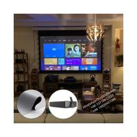 XYSCREEN HD Grey Tab Tension 100 inch Motorized Projector Screen for Wemax One Ultra Short Throw Projector