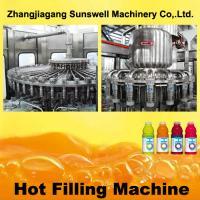 PET Bottle Hot Filling Machine 5000BPH - 20000BPH With 500 L/Min Air Consumption