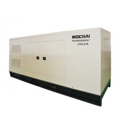 China 1000 KW Soundproof Diesel Generator Set 1375 KVA Electric Statring Water Cooled on sale