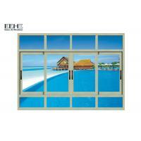 Safety Aluminum Sliding Glass Windows For High Level Buildings