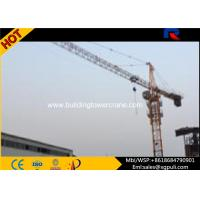 65m Mobile External Climbing Building Tower Crane For Heavy Equipment VFD Control System