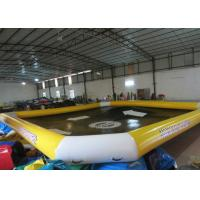 Waterproof Large Inflatable Lounge Pool , Backyard Inflatable Pool 10 X 8m