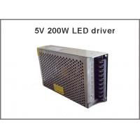 5V 40A 200W Switching Power Supply Driver adapter,led strip light transformer, for LED Strip AC100-240V Input to DC5V