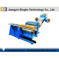 Hydraulic Hot Roll Mild Steel Simple Coil Slitting Machine Speed 0-30M / Min High Precision