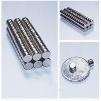 Custom Permanent Strong Disk NdFeb Magnet , N35 / N52 Sintered Neodymium Magnets