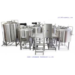 China Small-Scale Production of Beer/Black Beer on a Small Scale/Bar Beer Brewing Machine on sale