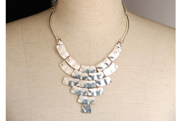 Personalizados artesanales plata bisutería artesanal collares para mujeres