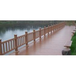 China Engineered Garden WPC Decking Flooring with Wood Plastic Composite on sale