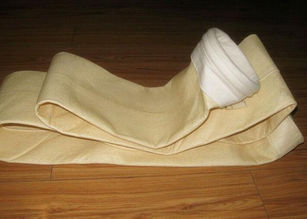 China heat reisistant air industry dust filter cloth / bag used in cement factory supplier