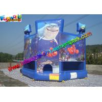 OEM Outside Small Inflatable Commercial Bouncy Castles With PVC tarpaulin