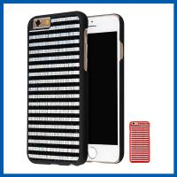 Genuine Leather Slim Apple Cell Phone Cases , Finish Surface With Excellent Grip