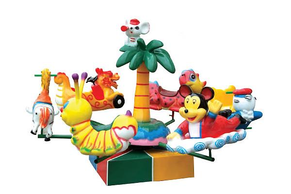 aviones de juguete elctrica dibujos animados para nios en el patio de juegos al aire libre a