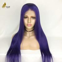 Customized Density Virgin Full Lace Human Hair Wigs Hand Tied No Shedding