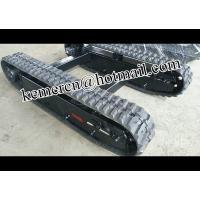 drill rig rubber track undercarriage /mini rubber chassis/ rubber crawler undercarriage/ crawler track undercarriage