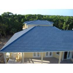 China Colorful Stone Coated Roofing Sheet,Traditional Chinese Discount Sun Stone Coated Metal Roof Tile on sale