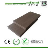23 mm thickness solid wood plastic decking