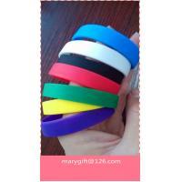 wholesale blank bulk cheap silicone wristband