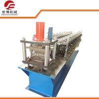 Hydraulic Cutting Shutter Door Roll Forming Machine With 0-15m/Min Forming Speed