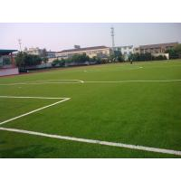 Landscaping Synthetic Soccer Grass 9000dtex, 25mm Artificial Grass Turf For Football Field