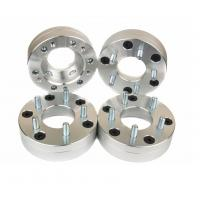 Silver Car Wheel Spacers 15 Mm , 2 Inch Wheel Spacers For Pickup Truck Suv