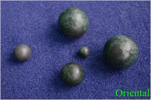Diamater 2 inch customized iron cast steel balls for cement plant , power station