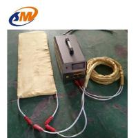 30KW Portable induction weld preheating machine for pipe, tube steel plate quickly heating weld preheater 300 C