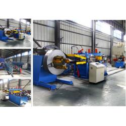 China Racking Sheet Metal Roll Forming Machines Adopts Track Cutting Technology on sale