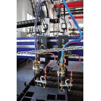 High Speed H Beam Production Line , CNC Plasma Flame Cutting Machine