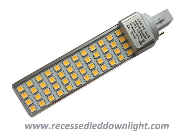 13w pl g24 g24d g24q 2 4 pin 13w 1140 1170lm 5050 smd led light bulb bulbs. Black Bedroom Furniture Sets. Home Design Ideas