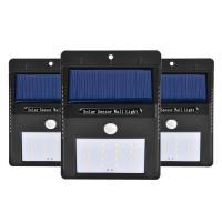 IP 65 Waterproof Solar Powered Dusk To Dawn Security Lights , Wireless Solar Pir Led Security Light