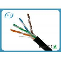 Outdoor Cat5e Lan Cable , Computer Cat5e Network Ethernet Cable UTP With Oil 1000FT