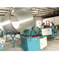 F1600 Spiral Tube Bender Machine with Cold Bending for HAVC Air Duct , Tube  , Pipe