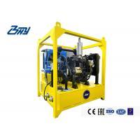 High Pressure Diesel Hydraulic Power Unit Adjust Speed 1386x1200x1500 mm