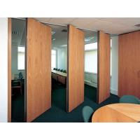 Hotel Movable Acoustic Folding Partition Walls Sliding Wood Doors