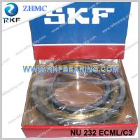 Germany Made SKF NU232ECML/C3 160x290x48mm Cylindrical Roller Bearing With Brass Cage