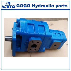Industrial Hydraulic Oil Pump / Hydraulic Gear Pump For Tractor , Cast Iron Centrifugal
