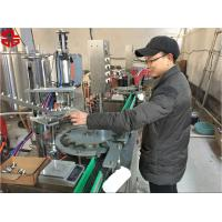Aerosol Paint Filling Machine / Aerosol Can Filling Line For Snow Sprays , Party Strings