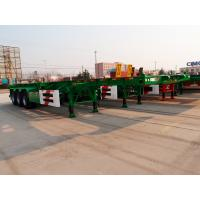 20ft 40 ft size fuwa axle skeletal container trailer - CIMC Vehicle