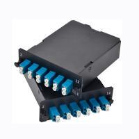 2x MPO-12 To 12x LC Duplex , Type A , 24 Fibers OM3 Multimode FHD MPO Cassette