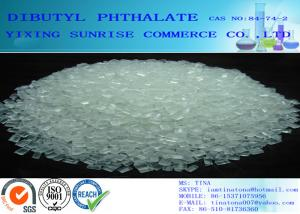 China Transparent Dibutyl Phthalate DBP Plastic Plasticizers CAS 84-74-2 For Cellulose Resin / PVC supplier
