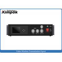 Vehicle to Vehicle Full HD Wireless COFDM Transmitter , UHF High-speed Video Transmitter Receiver 1080P