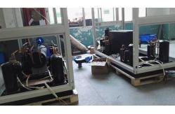 China Bomba de calor comercial 30kw do controle paralelo do aquecedor de água ~ 85kw 380V/60Hz fornecedor