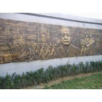 bronze relief for history,bronze relief sculpture in hebei China copper relief sculpture
