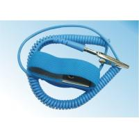 Safety Comfortable ESD Anti Static Wrist Strap Free Size With Grounding Cord