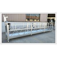 Aluminium ZLP630 6m counter weight suspended platform, building construction equipment