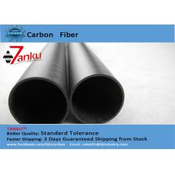 China Carbon Fiber Composite Tubing In 14mm*12mm*1000mm 1mm Thickness on sale