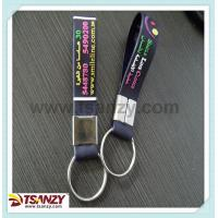 soft pvc embossed logo key strap,key holder
