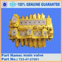 komatsu parts PC400-7  main valve 723-47-27501 in stocking